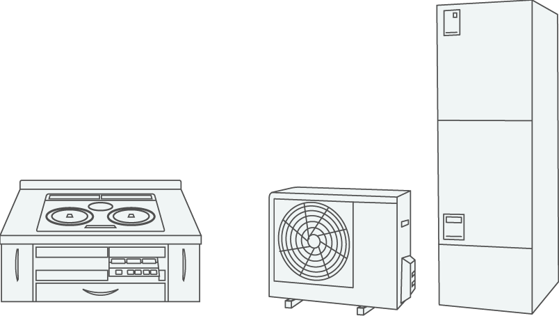 電化機器の画像